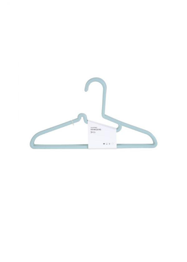 Cintre en plastique 5 pack (vert)