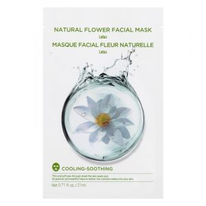 Masque de fleur naturelle (Lotus)